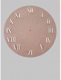 ΣΕΤ 12 ΑΡΙΘΜΟΙ ΡΟΛΟΓΙΟΥ ΛΑΤΙΝΙΚΟΙ 2cm