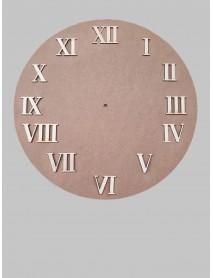 ΣΕΤ 12 ΑΡΙΘΜΟΙ ΡΟΛΟΓΙΟΥ ΛΑΤΙΝΙΚΟΙ 4cm