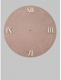 ΣΕΤ 4 ΑΡΙΘΜΟΙ ΡΟΛΟΓΙΟΥ ΛΑΤΙΝΙΚΟΙ 4cm
