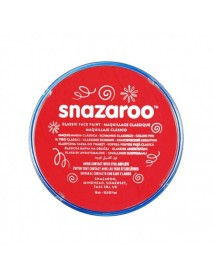 SNAZAROO 18 ml ΚΡΕΜΑ FACE PAINTING Classic Bright Red