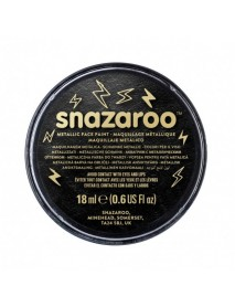 SNAZAROO 18 ml ΚΡΕΜΑ FACE PAINTING Electric Black