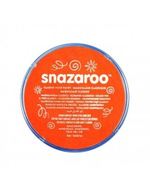 SNAZAROO 18 ml ΚΡΕΜΑ FACE PAINTING Classic Dark Orange