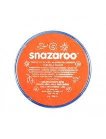 SNAZAROO 18 ml ΚΡΕΜΑ FACE PAINTING Classic Orange