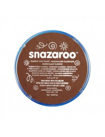 SNAZAROO 18 ml ΚΡΕΜΑ FACE PAINTING Classic Light Brown