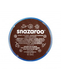 SNAZAROO 18 ml ΚΡΕΜΑ FACE PAINTING Classic Dark Brown