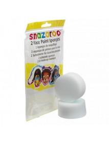 Snazaroo 2 Λεία Σφουγγαράκια Face Painting