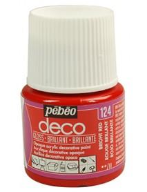 PBO-DECO GLOSS 45ML BRIGHT RED