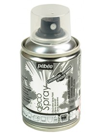 DECOSPRAY 100ML SILVER CHROMIUM
