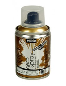 DECOSPRAY 100ML GOLD CHROMIUM