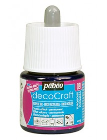 ACRYLIC INK DECOCRAFT 45ML TURQUOISE