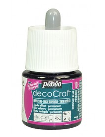 ACRYLIC INK DECOCRAFT 45ML PETROLEUM BLUE