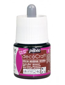ACRYLIC INK DECOCRAFT 45ML HAZELNUT