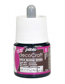 ACRYLIC INK DECOCRAFT 45ML COFFEE