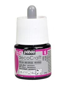 ACRYLIC INK DECOCRAFT 45ML STEEL