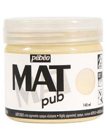 MAT PUB 140ML IVORY
