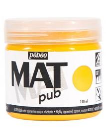 MAT PUB 140ML GOLDEN YELLOW