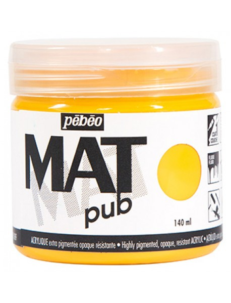 MAT PUB 140ML GOLDEN YELLOW
