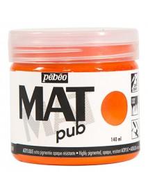 MAT PUB 140ML BRIGHT ORANGE