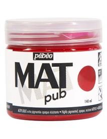 MAT PUB 140ML MAGENTA RED
