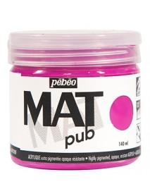 MAT PUB 140ML TYRIAN PINK