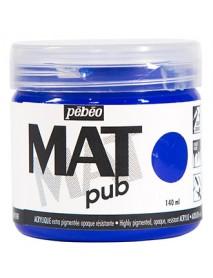 MAT PUB 140ML ULTRAMARINE BLUE
