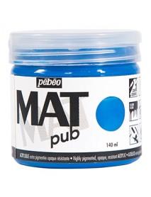 MAT PUB 140ML COBALT BLUE