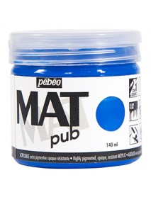 MAT PUB 140ML CYAN BLUE