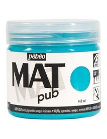 MAT PUB 140ML TURQUOISE BLUE