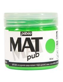 MAT PUB 140ML BRIGHT GREEN