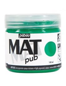 MAT PUB 140ML PERMANENT GREEN