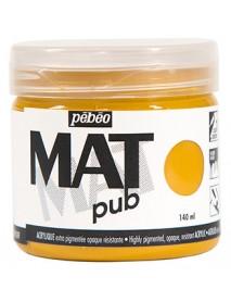 MAT PUB 140ML OCHRE YELLOW