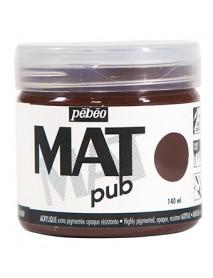 MAT PUB 140ML BURNT UMBER