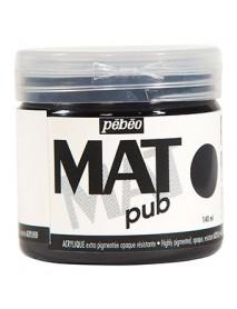 MAT PUB 140ML IVORY BLACK