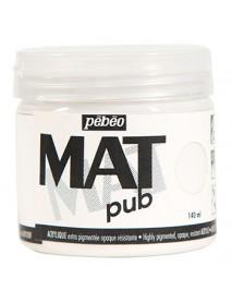 MAT PUB 140ML PERMANENT WHITE