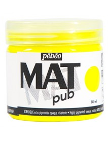 MAT PUB 140ML FLUO YELLOW