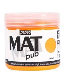 MAT PUB 140ML FLUO ORANGE