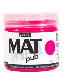 MAT PUB 140ML FLUO PINK