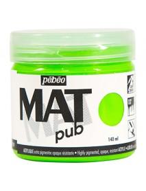 MAT PUB 140ML FLUO GREEN