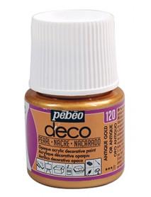 DECO PEARL 45ML ANTIQUE GOLD