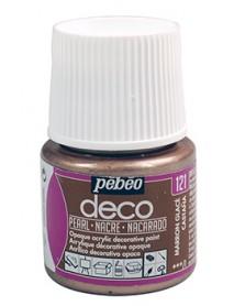 DECO PEARL 45ML MARRON GLACE