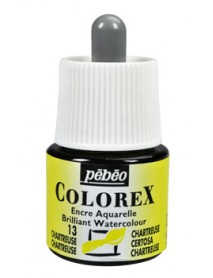 WATERCOLOR INK COLOREX 45ML CHARTREUSE
