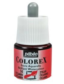 WATERCOLOR INK COLOREX 45ML CYCLAMEN
