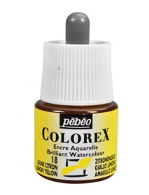 WATERCOLOR INK COLOREX 45ML LEMON YELLOW