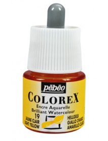 WATERCOLOR INK COLOREX 45ML LIGHT YELLOW