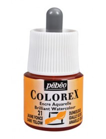 WATERCOLOR INK COLOREX 45ML DARK YELLOW