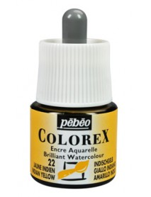 WATERCOLOR INK COLOREX 45ML INDIAN YELLOW