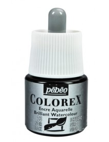 WATERCOLOR INK COLOREX 45ML BLACK