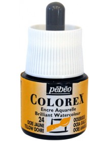 WATERCOLOR INK COLOREX 45ML YELLOW OCHRE