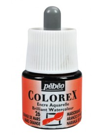 WATERCOLOR INK COLOREX 45ML MARS ORANGE