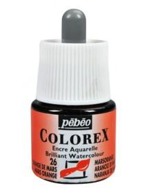 WATERCOLOR INK COLOREX 45ML MARS ORANGE